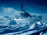 砕氷船、南極