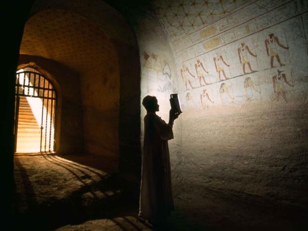 男性と象形文字、スーダン